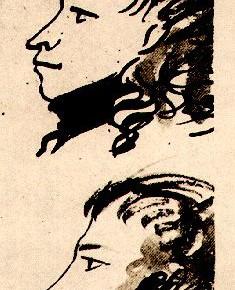 А.С. Пушкин - автор портрета (1827)