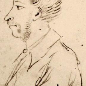 А.С.Пушкин - автопортрет (28.06.1829)