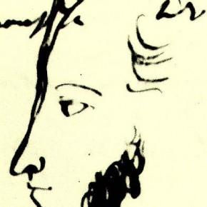 А.С. Пушкин - автопортрет (24.02.1832)