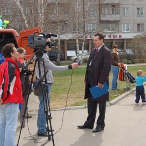 В тот же вечер сюжет о конкурсе клининговых компаний Барнаула показали по каналу Катунь-24