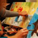 Занятия по живописи акварелью и маслом