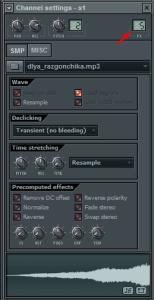 Введение в работу с семплами в FL Studio