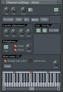 Простая Lead партия в FL Studio