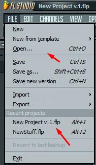А вы сохраняете свои проекты в редакторе FL Studio?