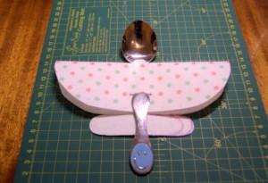 Весёлая ложечка - самолёт