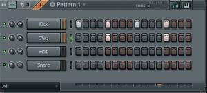 Создание простой Drum партии в FL Studio