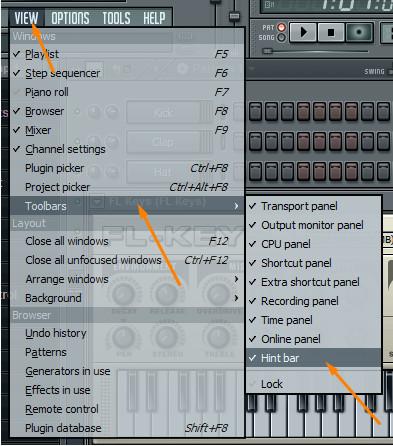 Разбор панелей FL Studio P.S.
